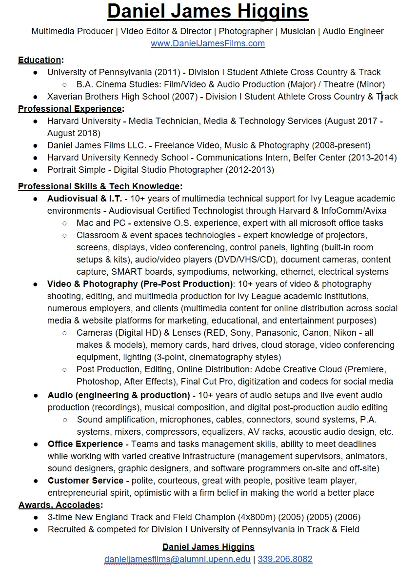 Resume (2018-2019) (jpeg)